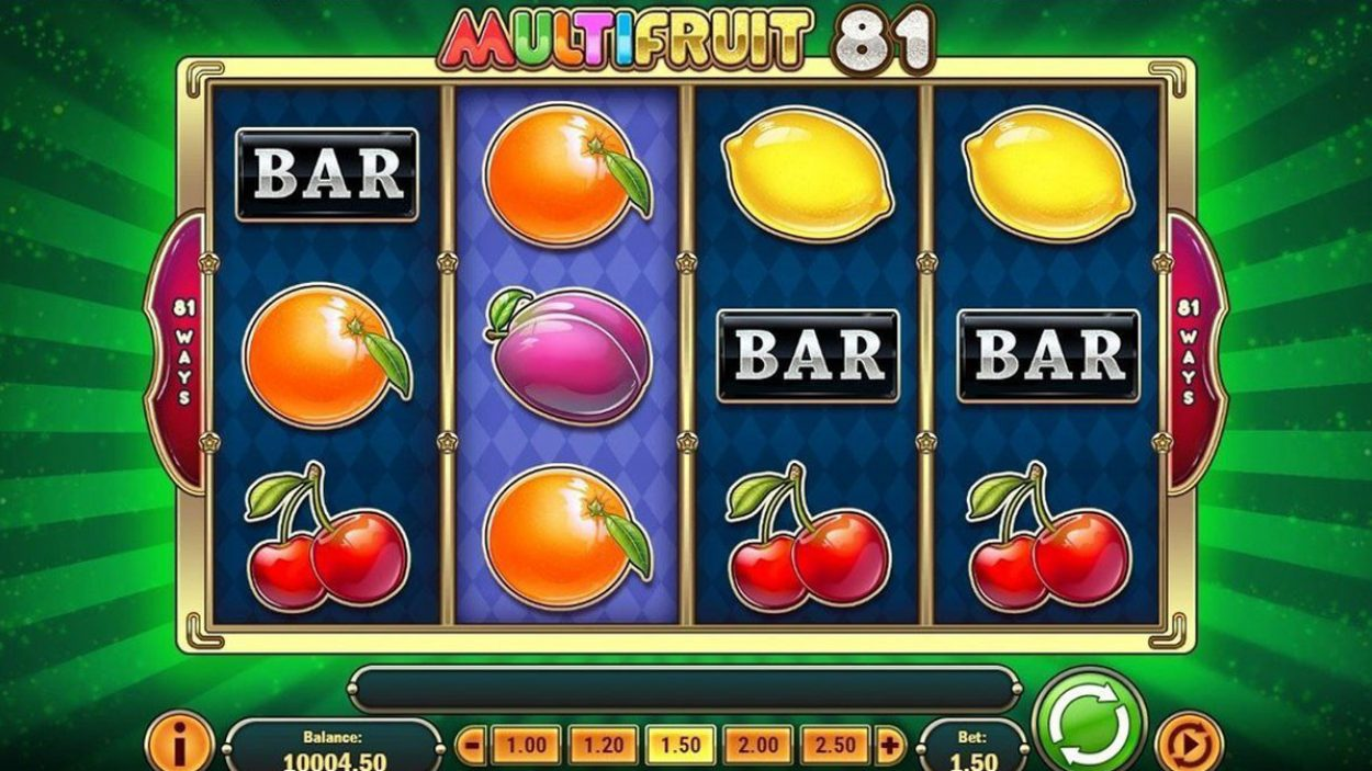 Multifruit 81 slot 89078
