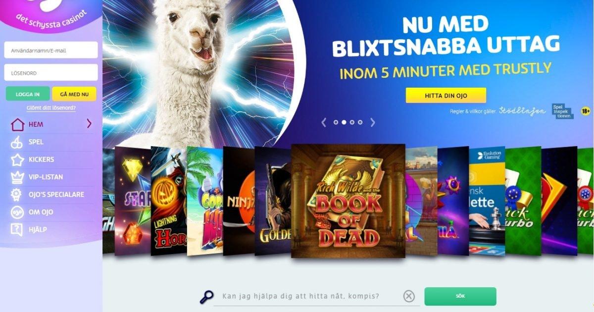 Bästa online casino utan toad