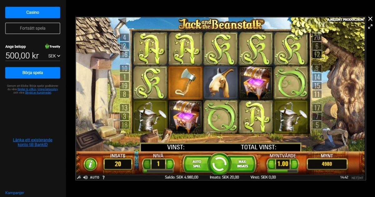 Casino med snabba resort