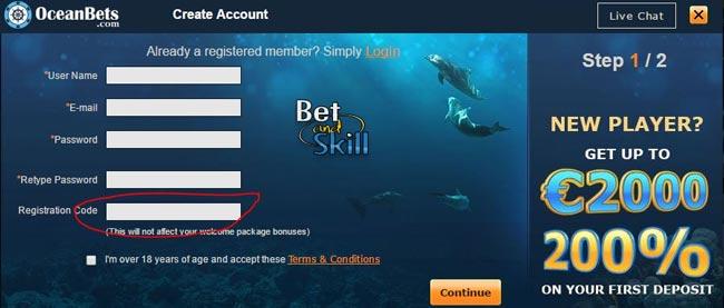 Mobile bet bonus code 89650