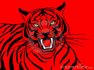 Billigaste skraplotten Red Tiger alperna