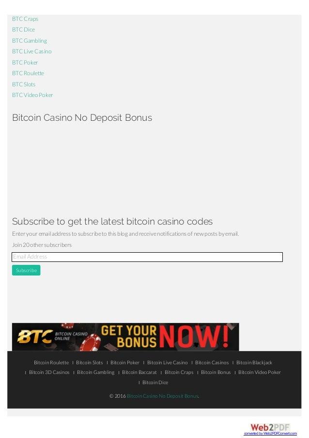 Casino bitcoin 27133