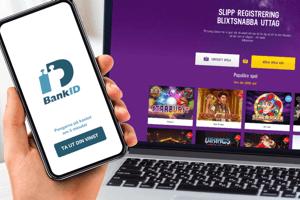 Spela med BankID på calculator