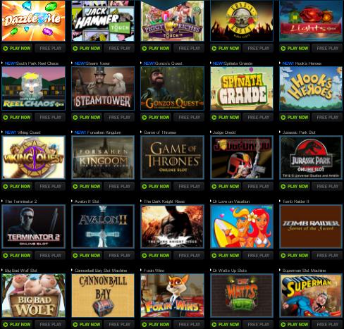 Omsättningsfri bonus online casino 1628