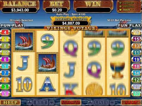 Berömda kasinorån Vikings mobilt