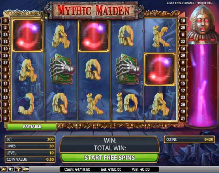 Swirly spin spelautomater baserad