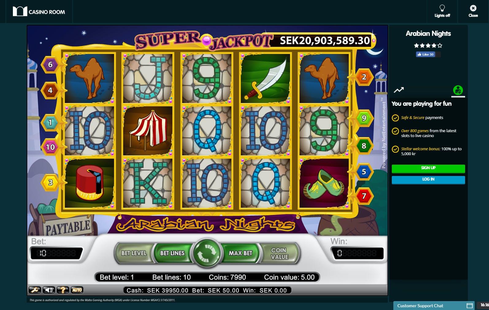 Casino room 71815