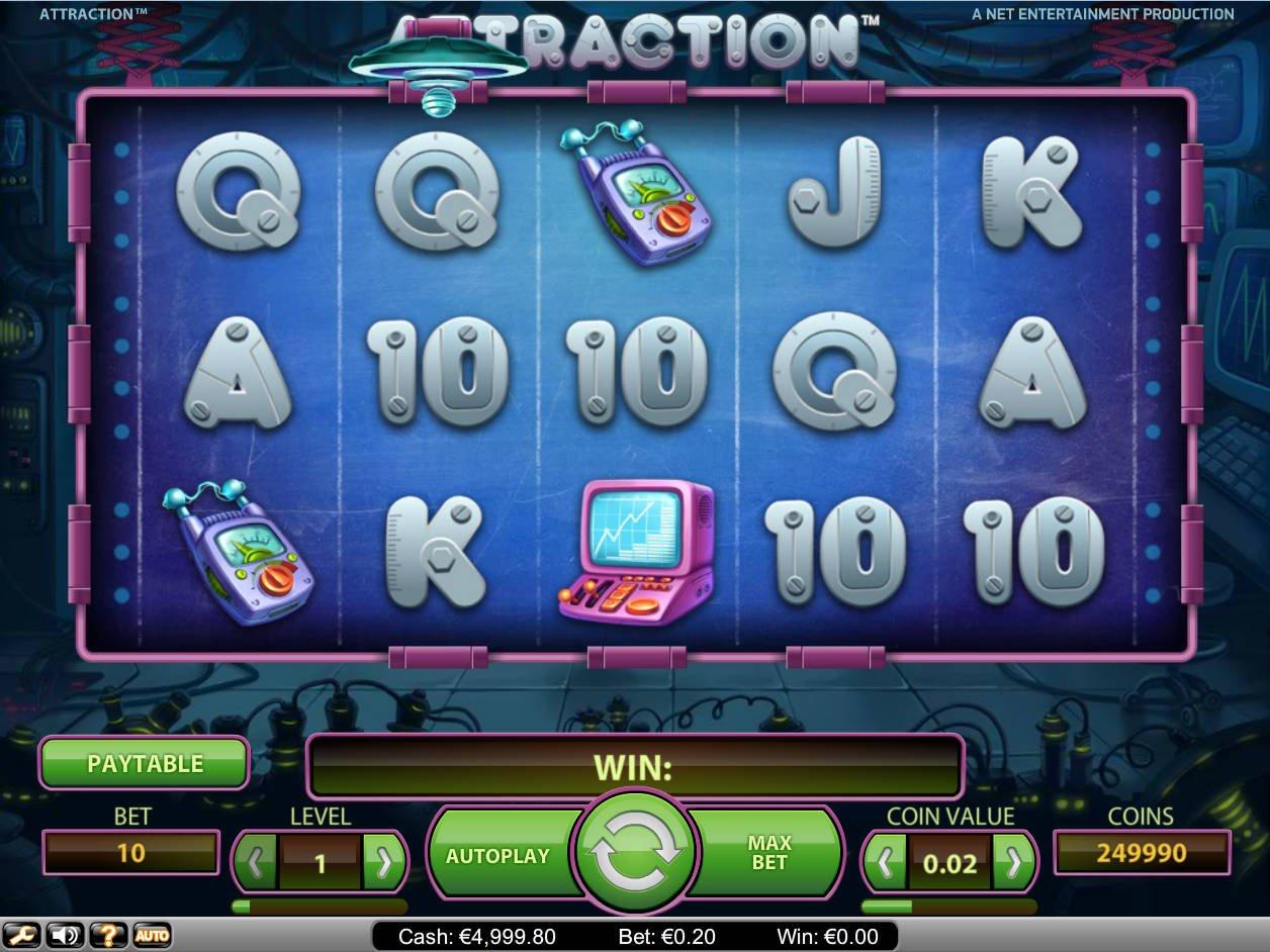 Attraction casino idag Betsoft 60382