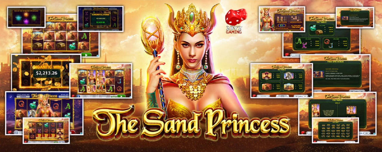 The Sand Princess slot riskfritt