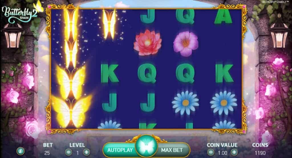 Butterfly Staxx Spelautomater slot 76661