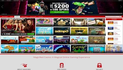 Betalningsmetoder internet casino MagicRed 8434