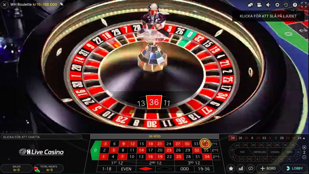 Spela roulette på nätet 57625