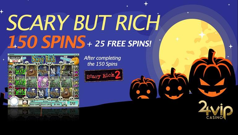 Halloween freespins casino samba