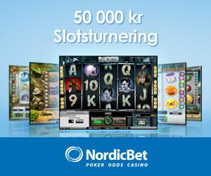 Nordicbet kronor i prispotten registrera