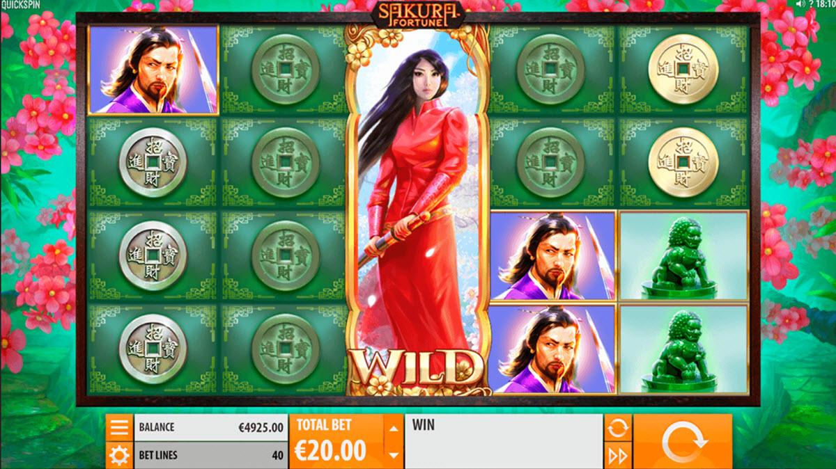 Casino äventyr Sakura Fortune 87133