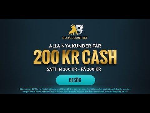 No account bet svenska 87940