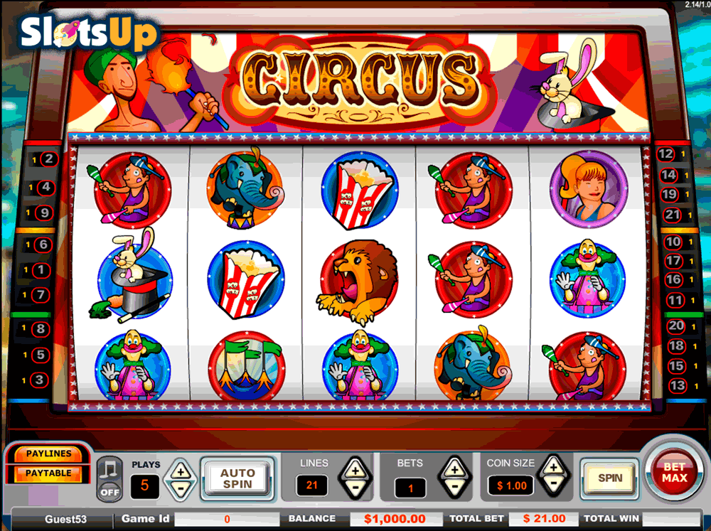 Circus free spins Hotline 13757