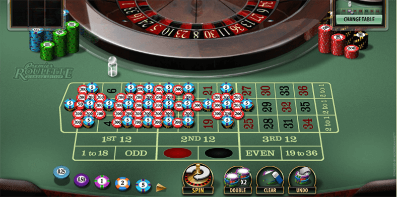 Roulette payout 4755