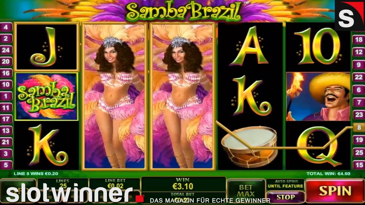 Samba Brazil Slot by 44459