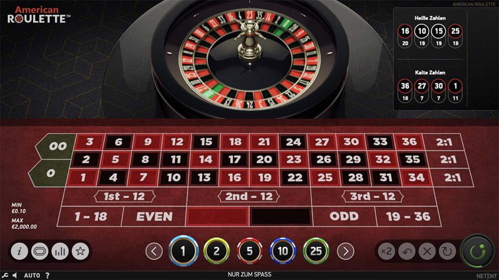 Amerikansk roulette spel seasons