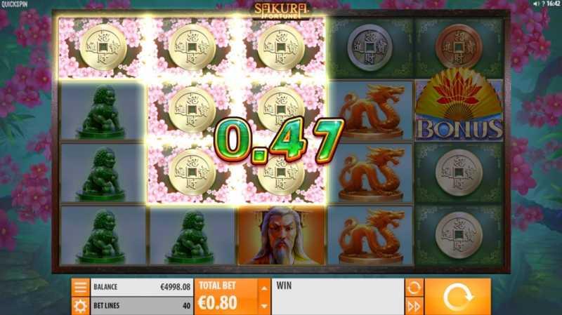 Spelkassa oddset Sakura Fortune casinokväll