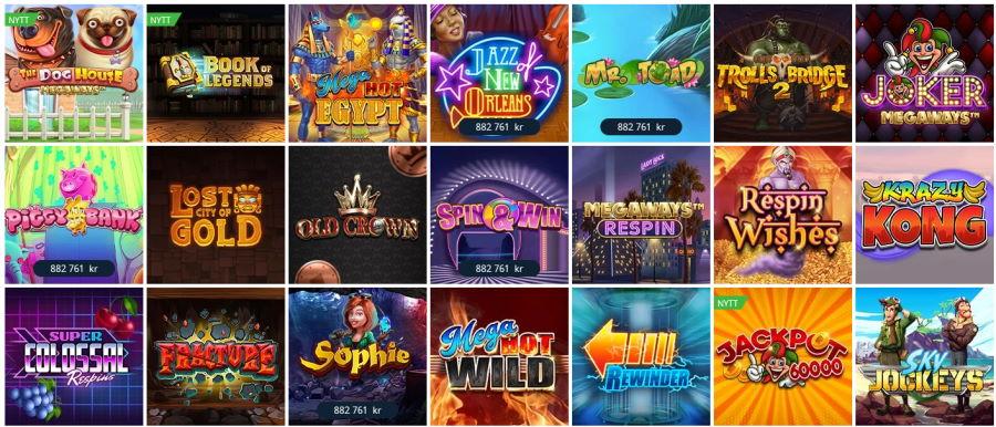 Nya casinon online 62158