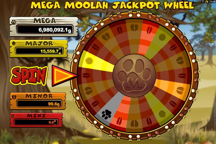 Mega moolah jackpot online
