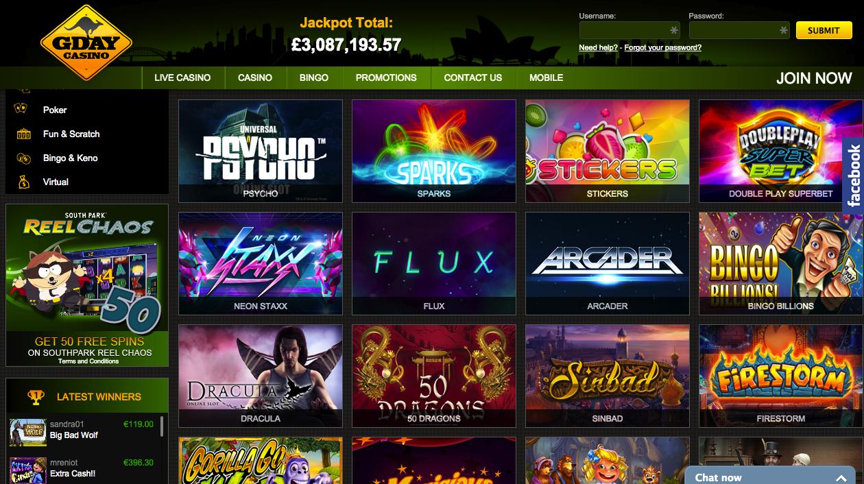 Casino has a new 65507