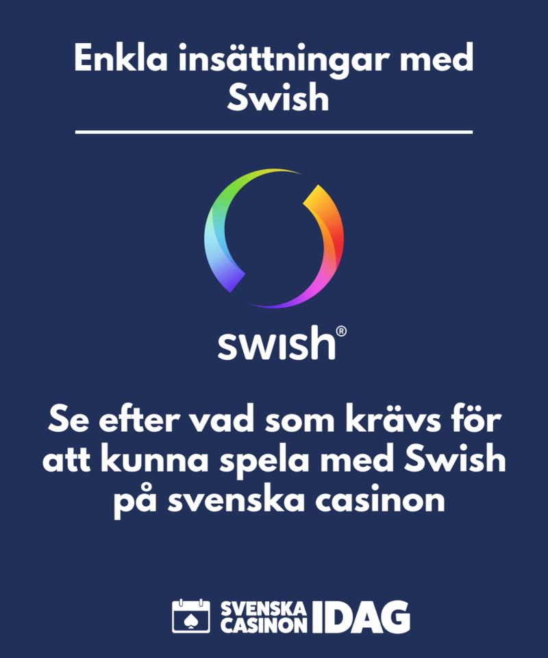 Casino med swish svenska dagliga