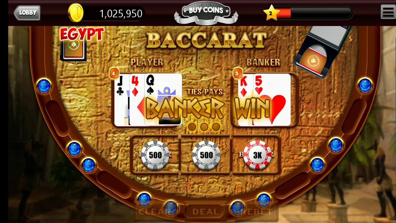 Baccarat casino kortspel 58542