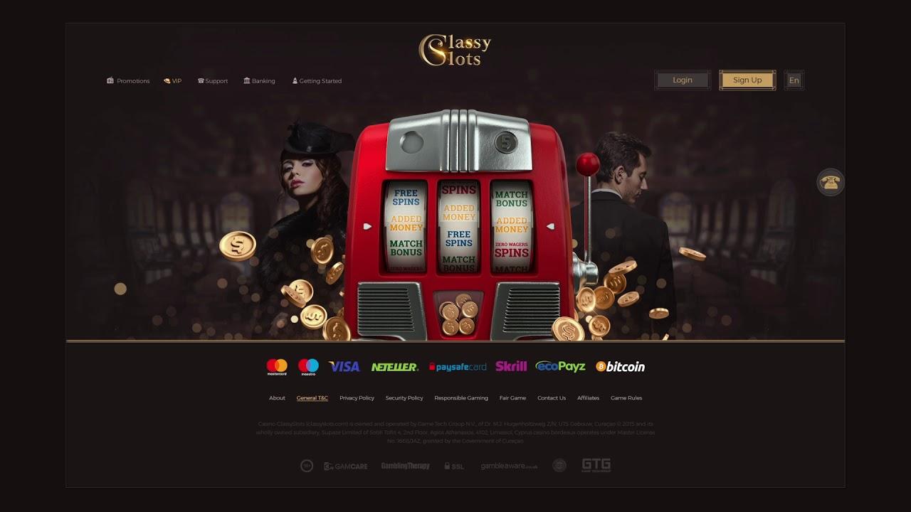 Classy slots poker tournament 66498