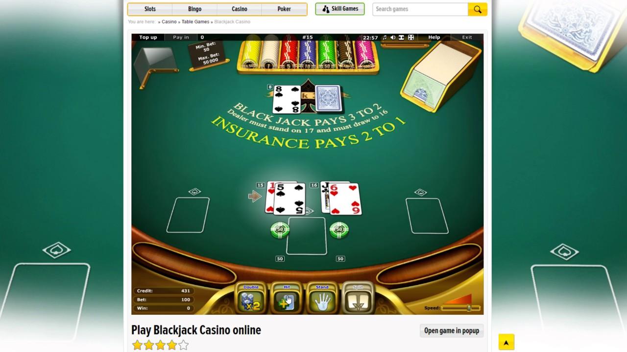 Blackjack strategin 57727