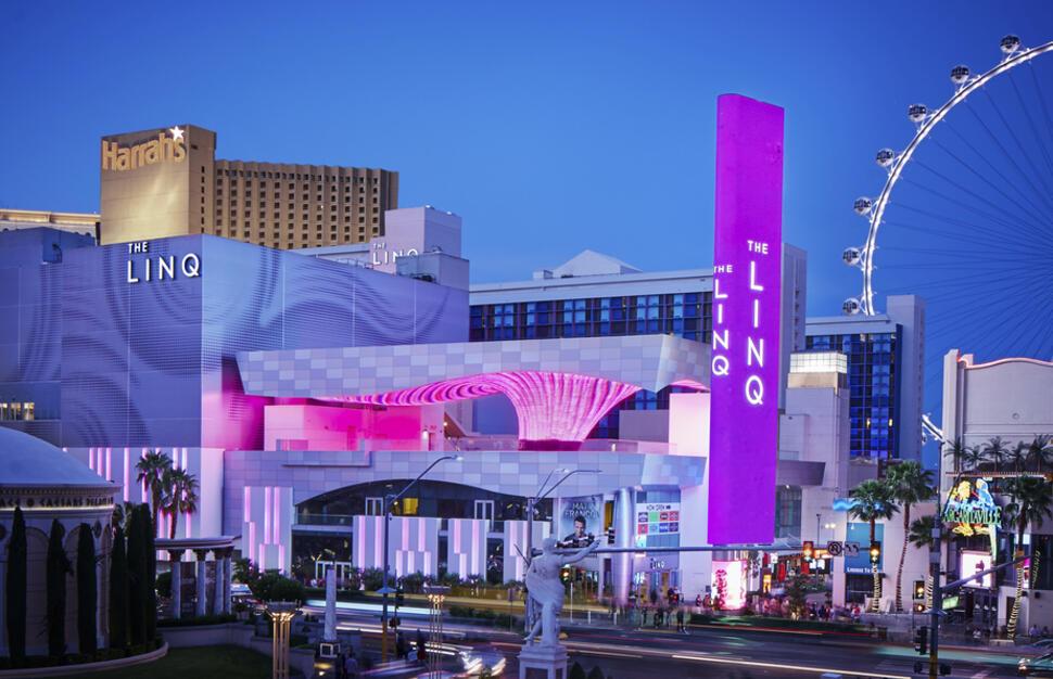 Las Vegas strip sites