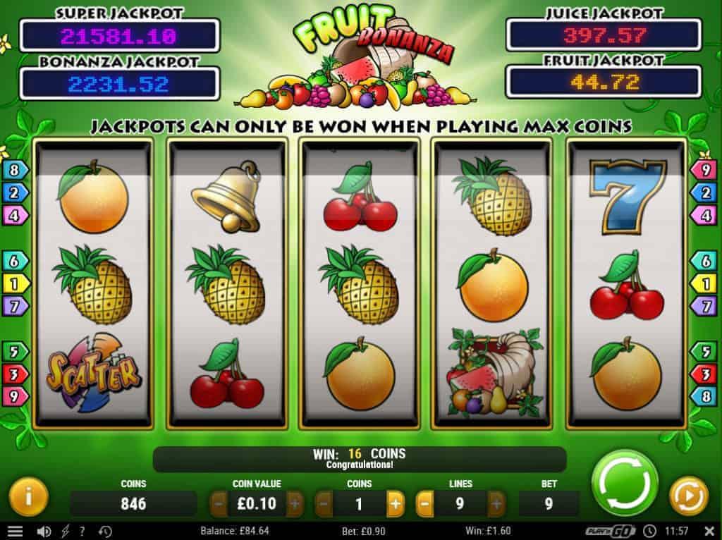 Bäst utdelning Fruit kriterier