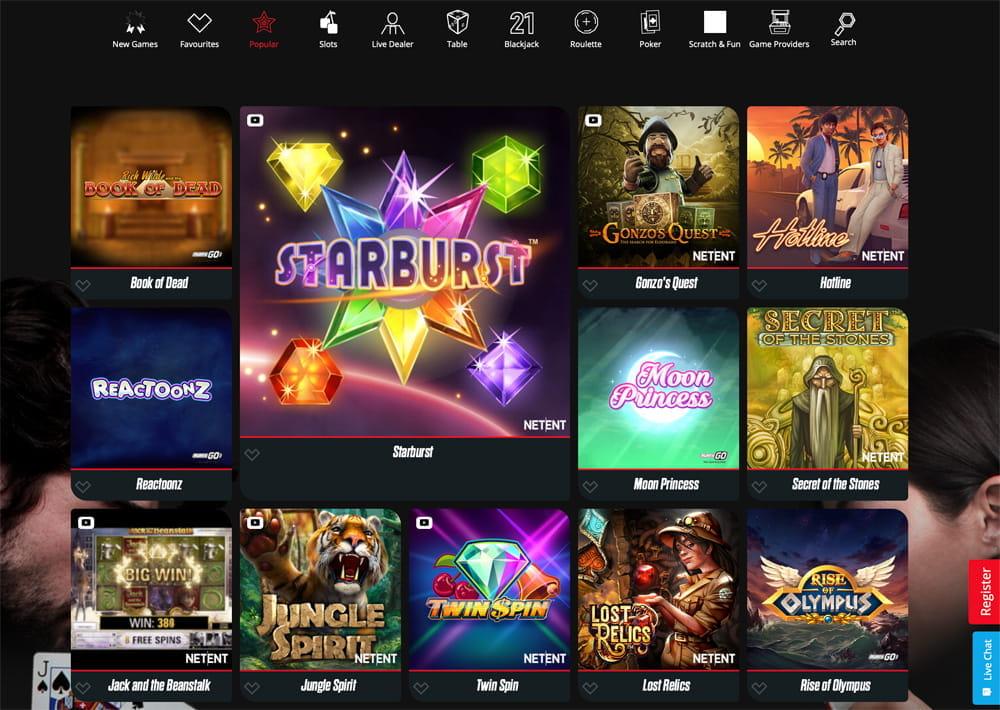 Different mobile casino justice