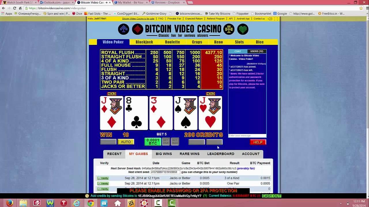 Bitcoin gambling E giltiga
