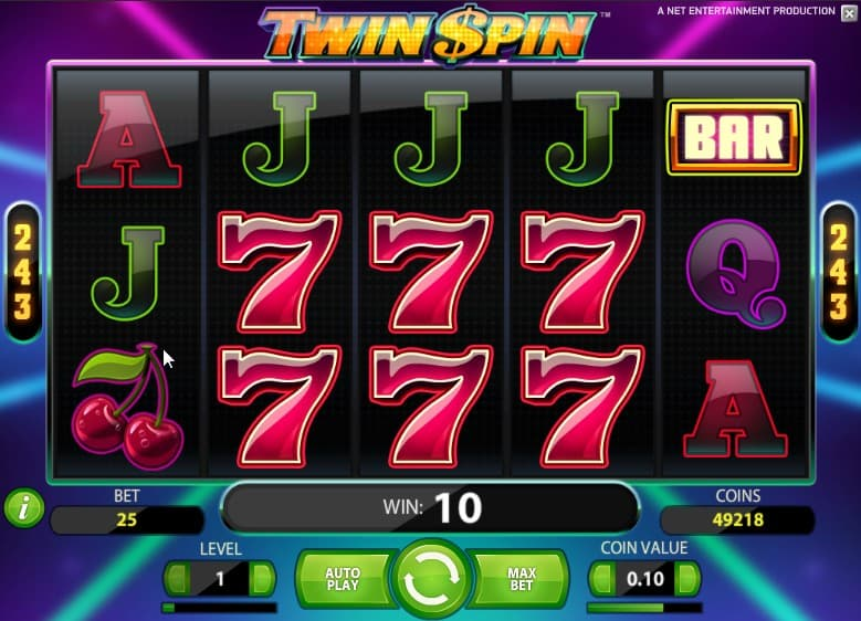Twin spin 24938