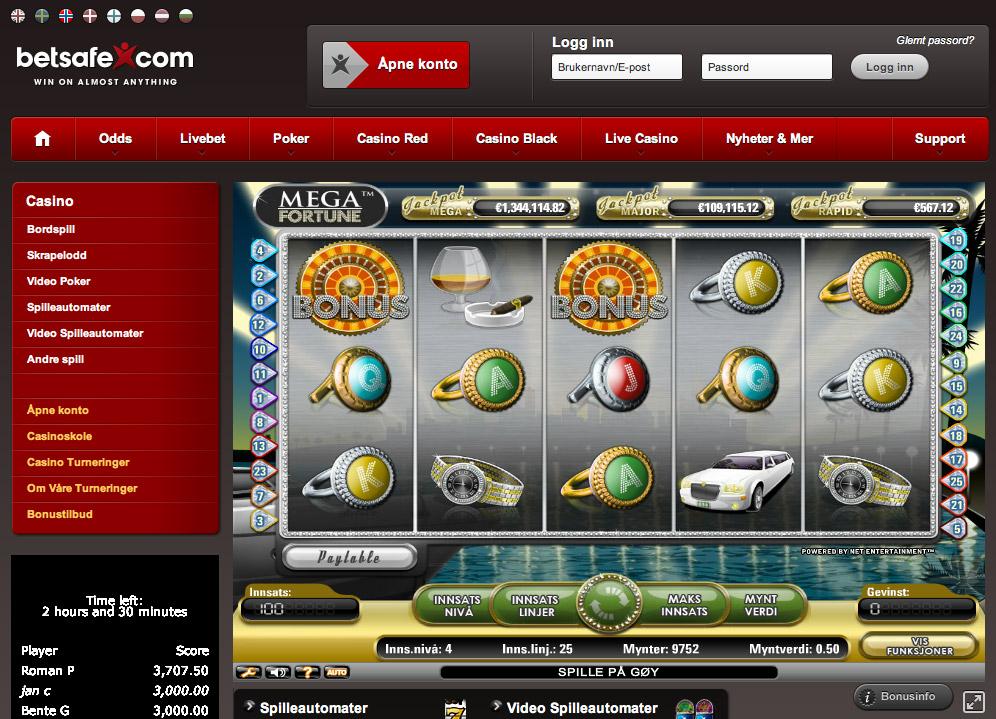 Casino bonus utan casinoSaga
