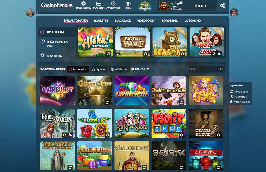 Casino heroes recension svensk 96981