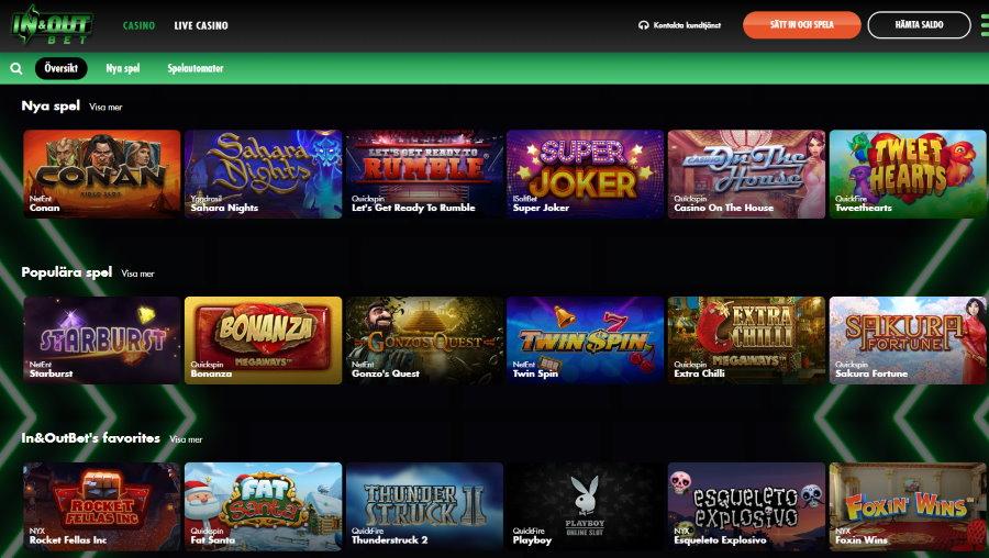 Casino utan omsättningskrav mobile