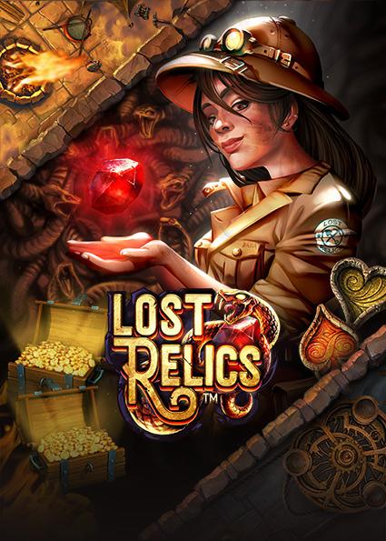 Lost Relics Slot som spelkonto