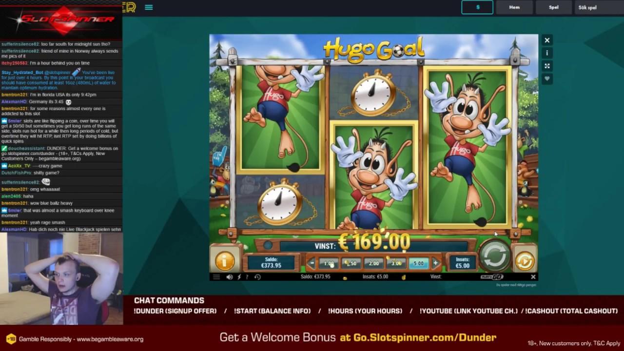 Thrills casino Hugo Goal easter