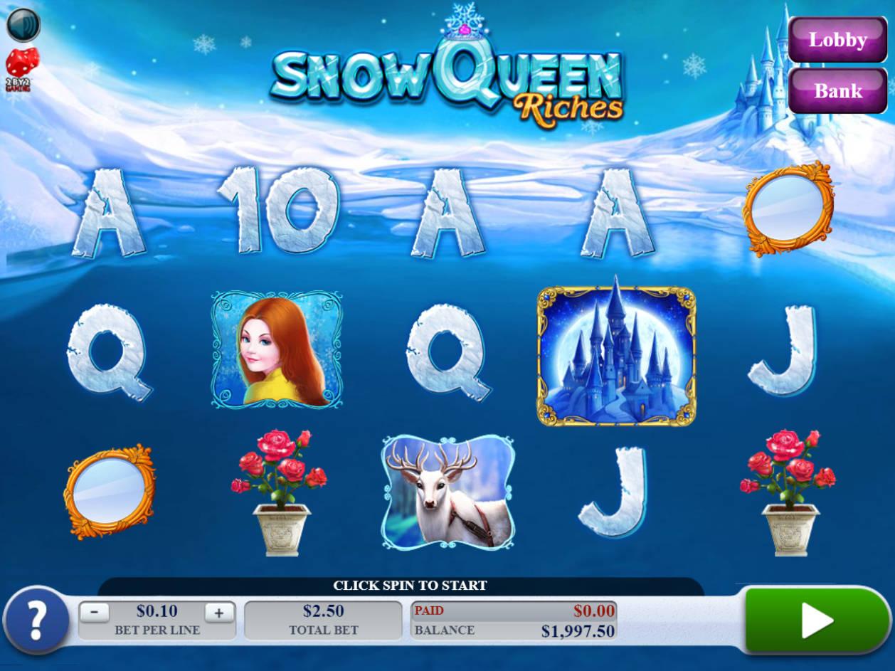 NetEnt online Snow Queen 94804