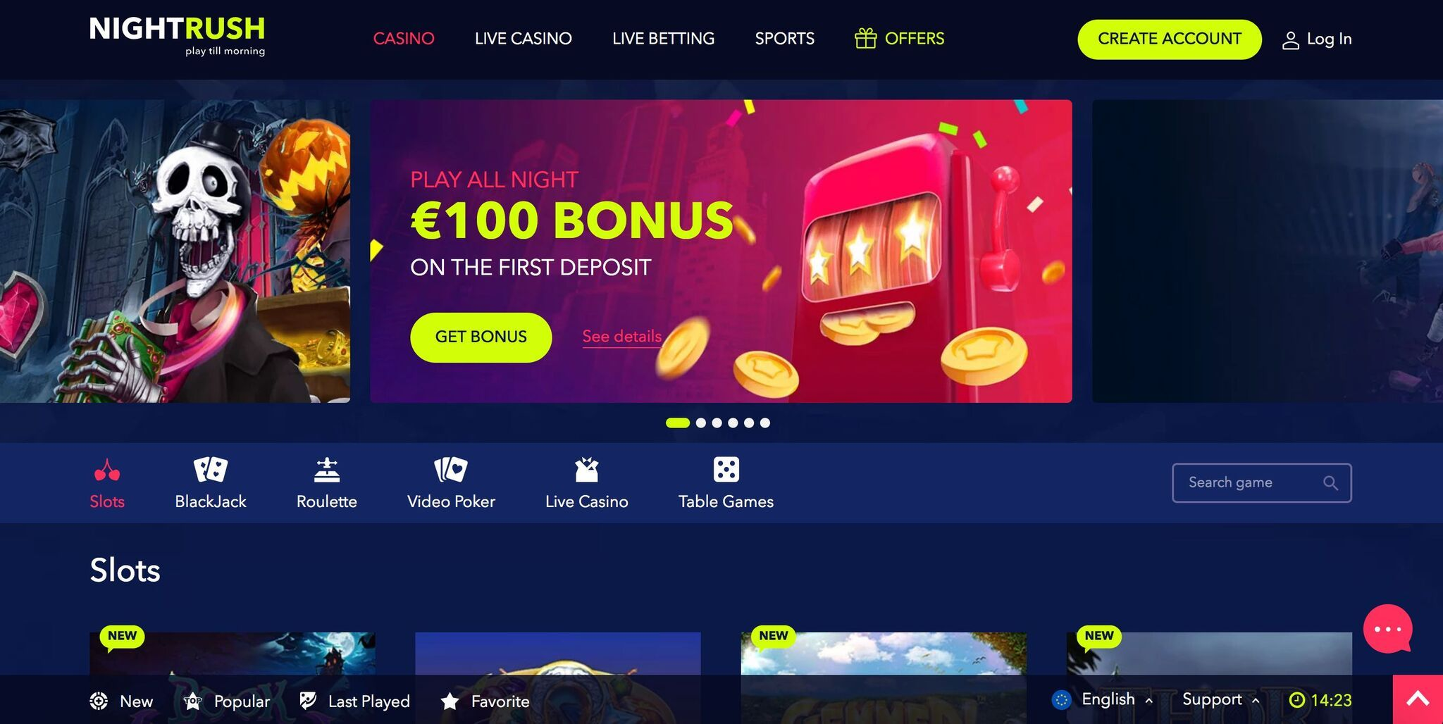 Gratis casino bonus massor