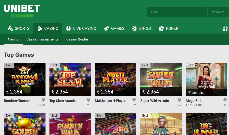 Pays spelautomater Unibet casino 24023