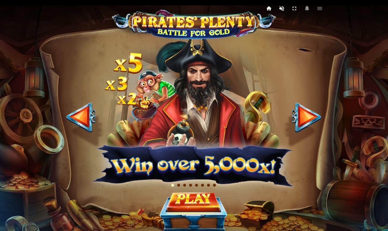 Pirates Gold slot 60301