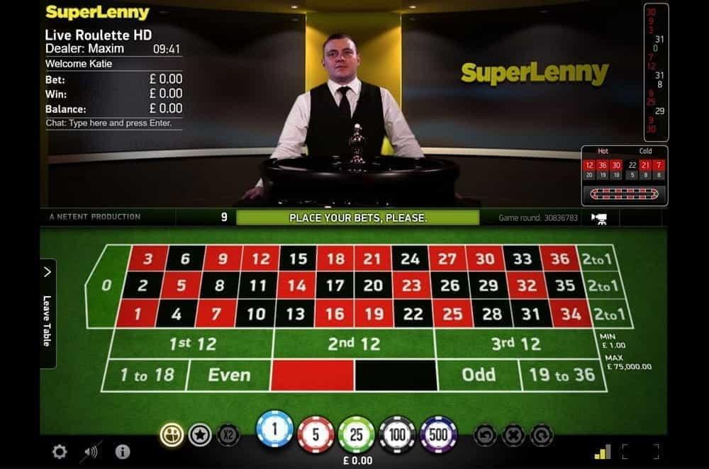 Roulette bonus SuperLenny 31585
