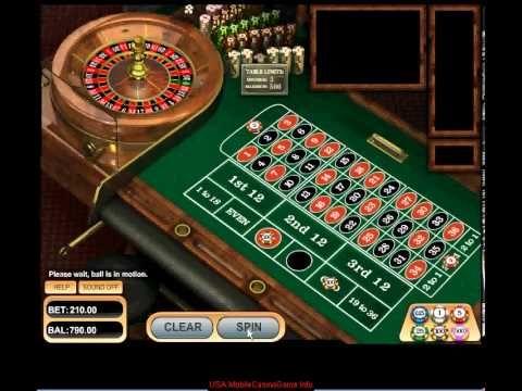 Roulette på nätet variation