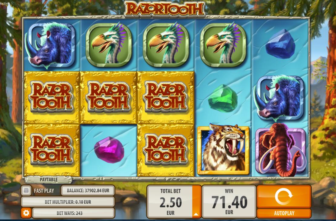 Slots söndag Quickspin 3522