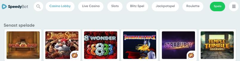 Speedy casino bet rider